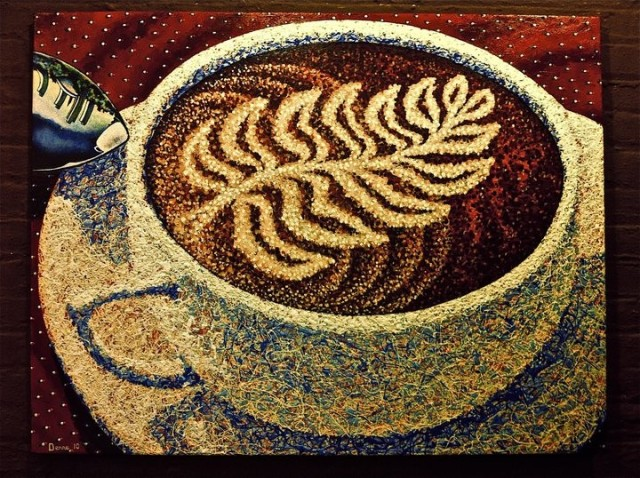 cafe vero albany  (3' x 4' ) NA